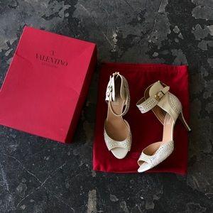 Valentino Crystal Embellished Heels
